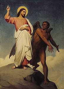 Yesus Dicobai Iblis