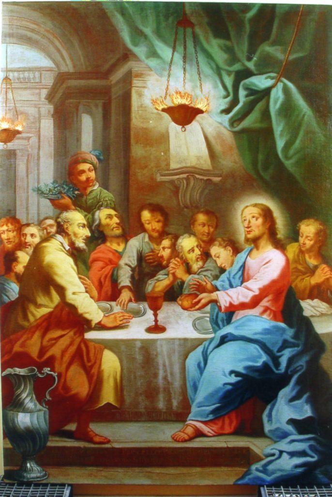 Lukisan Perjamuan Malam Terakhir