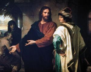 Yesus dan pria muda yang kaya raya